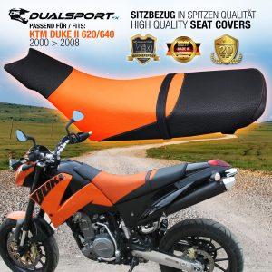 KTM DUKE II Sitzbezug, Seat Cover