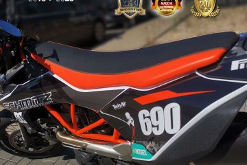 KTM SMC 690 SuperMoto Sitzbezug, Seat Cover