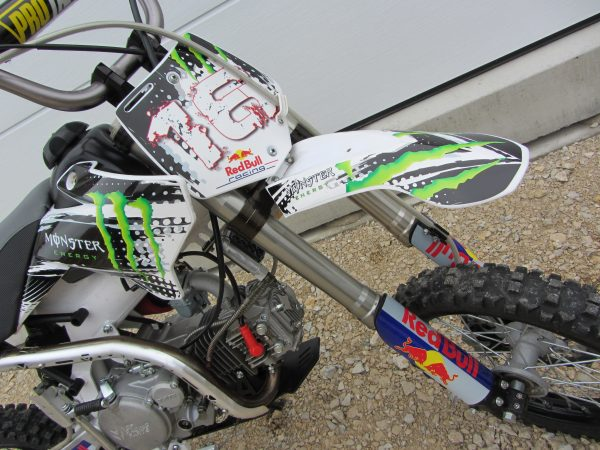 YCF,Monster Energy,Decal Set