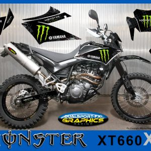 yamaha xt 660 x Monster dekor, graphics, Race